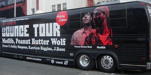 Stones Throw 2K8 BBall Tour Tour Bus