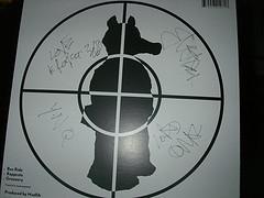 Madlib signed Quas' vinyl