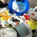 Bag of Paper n Crap (about an hour in to sorting/shredding!)