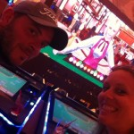 Me and He gambling